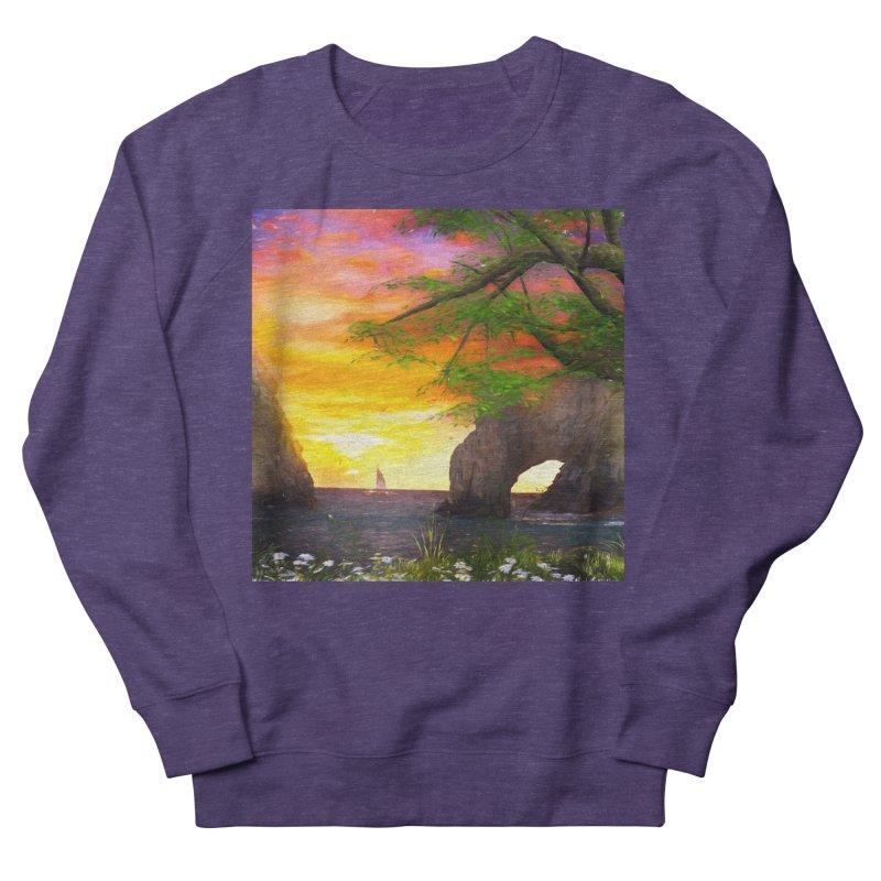 Sunset Dream Men's French Terry Sweatshirt by Jasmina Seidl's Artist Shop