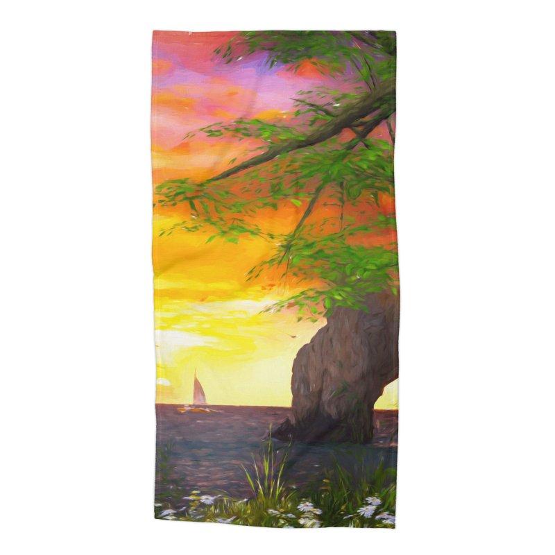 Sunset Dream Accessories Beach Towel by Jasmina Seidl's Artist Shop