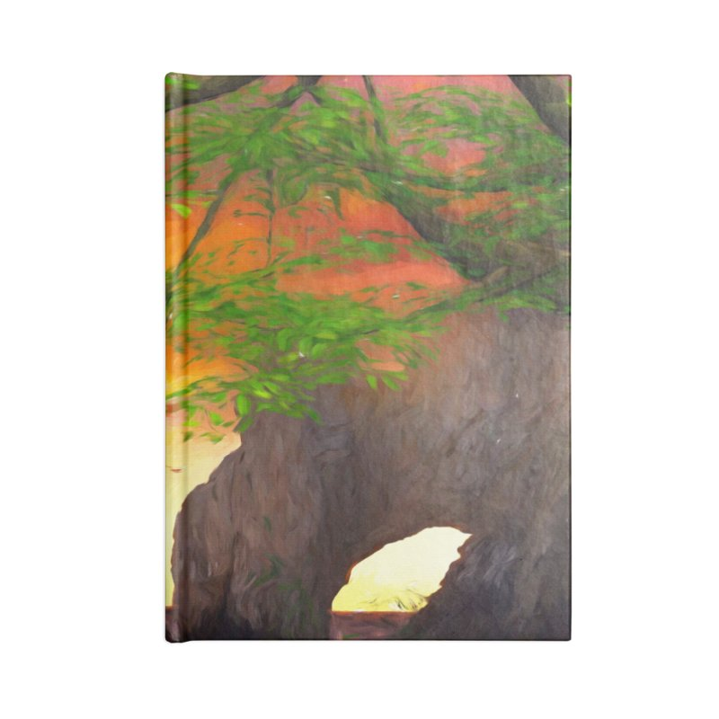 Sunset Dream Accessories Blank Journal Notebook by Jasmina Seidl's Artist Shop