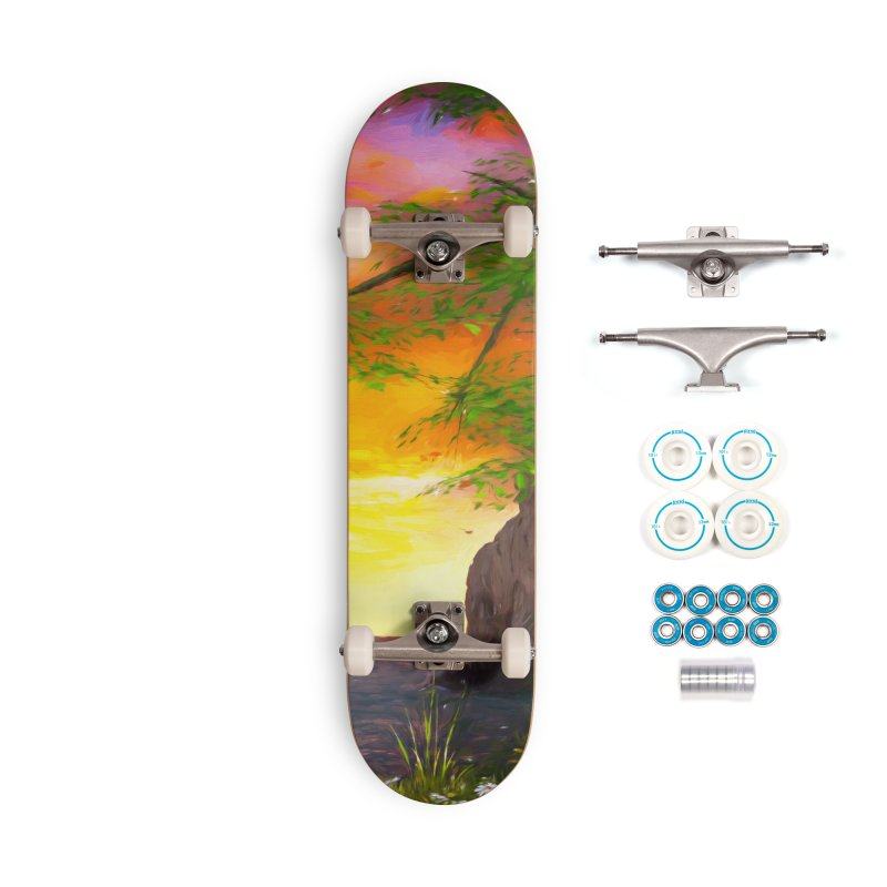 Sunset Dream Accessories Complete - Basic Skateboard by Jasmina Seidl's Artist Shop