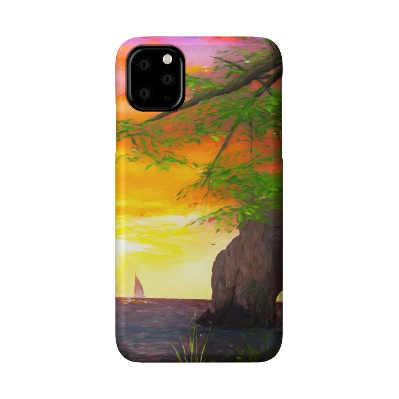 Sunset Dream Accessories Phone Case by Jasmina Seidl's Artist Shop