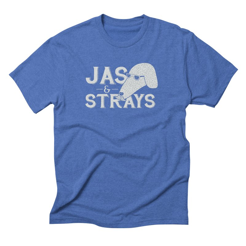 Jas & Strays Men's Triblend T-Shirt by Jas & Strays Shop