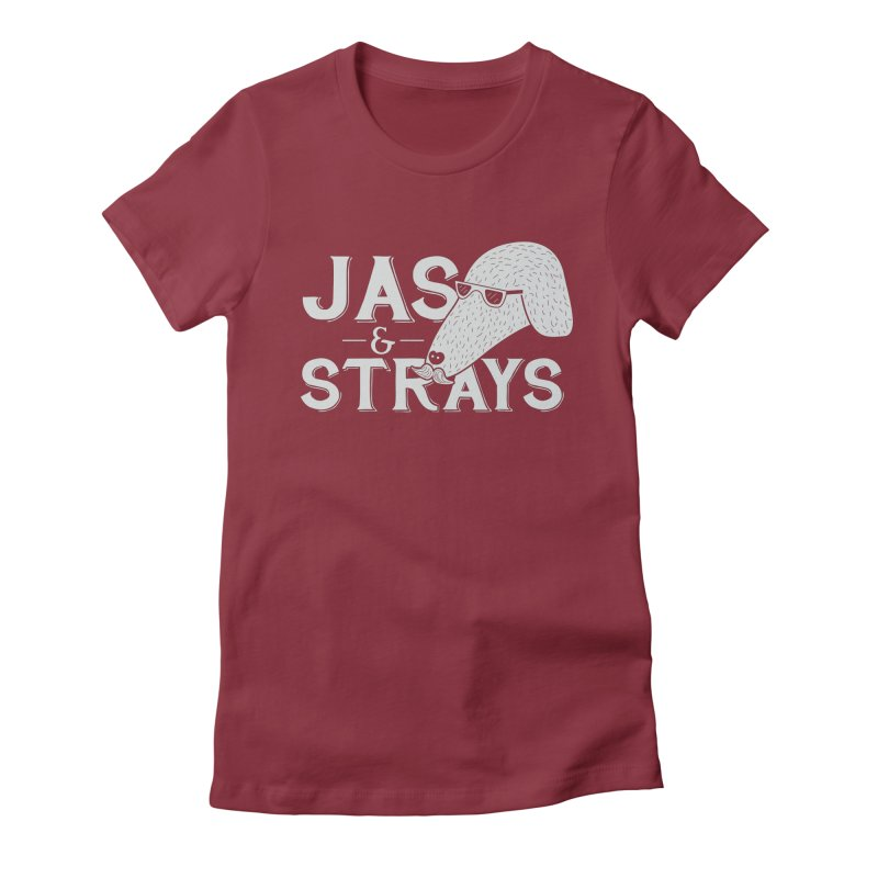 Jas & Strays Women's Fitted T-Shirt by Jas & Strays Shop