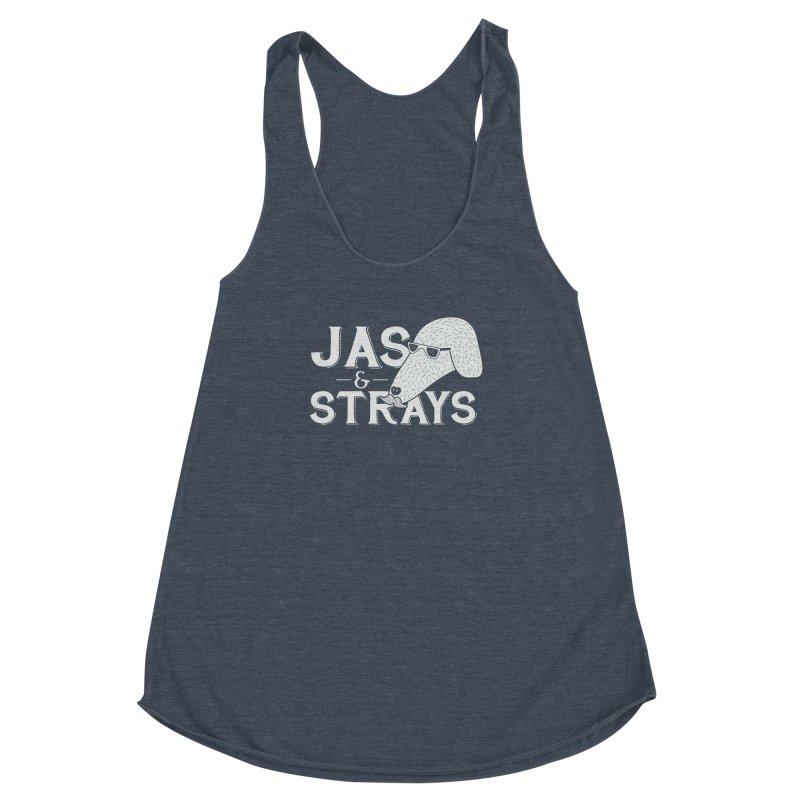 Jas & Strays Women's Racerback Triblend Tank by Jas & Strays Shop
