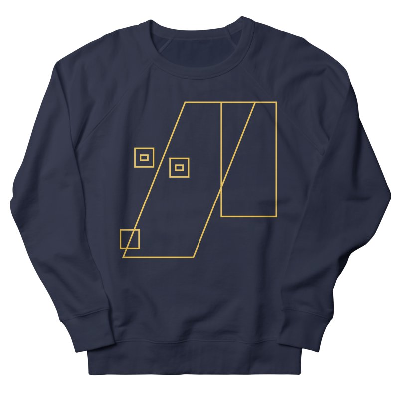 Not Abstract Art Women's French Terry Sweatshirt by Jas & Strays Shop