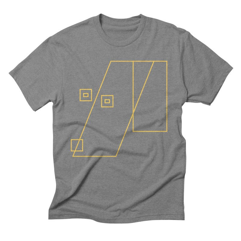 Not Abstract Art Men's Triblend T-Shirt by Jas & Strays Shop