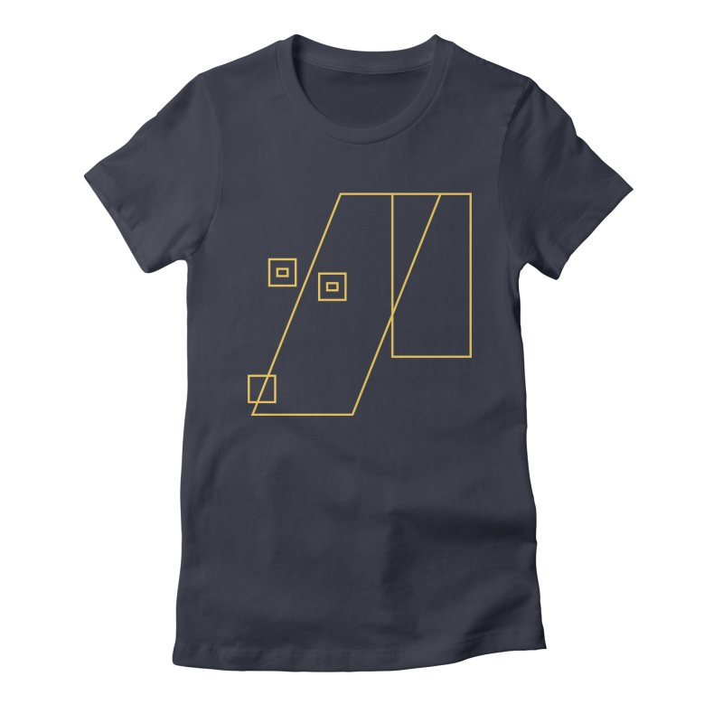 Not Abstract Art Women's Fitted T-Shirt by Jas & Strays Shop
