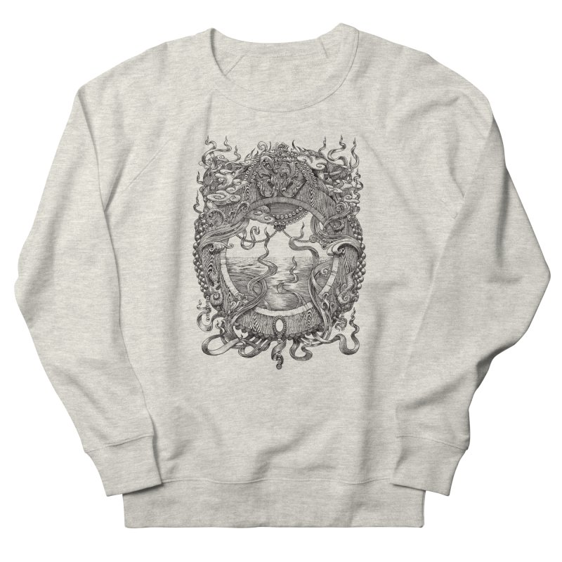 Pearl Portal in Men's French Terry Sweatshirt Heather Oatmeal by Jason Brammer's Shop