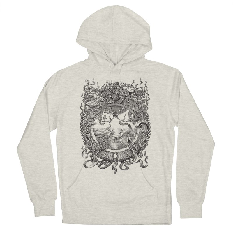 Pearl Portal Men's French Terry Pullover Hoody by Jason Brammer's Shop