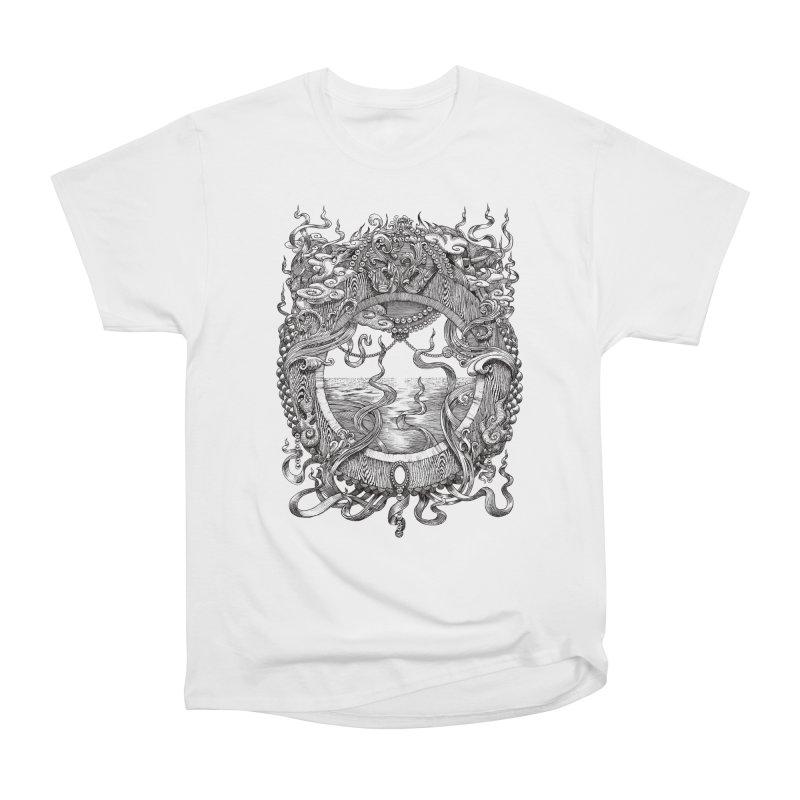 Pearl Portal Women's Heavyweight Unisex T-Shirt by Jason Brammer's Shop