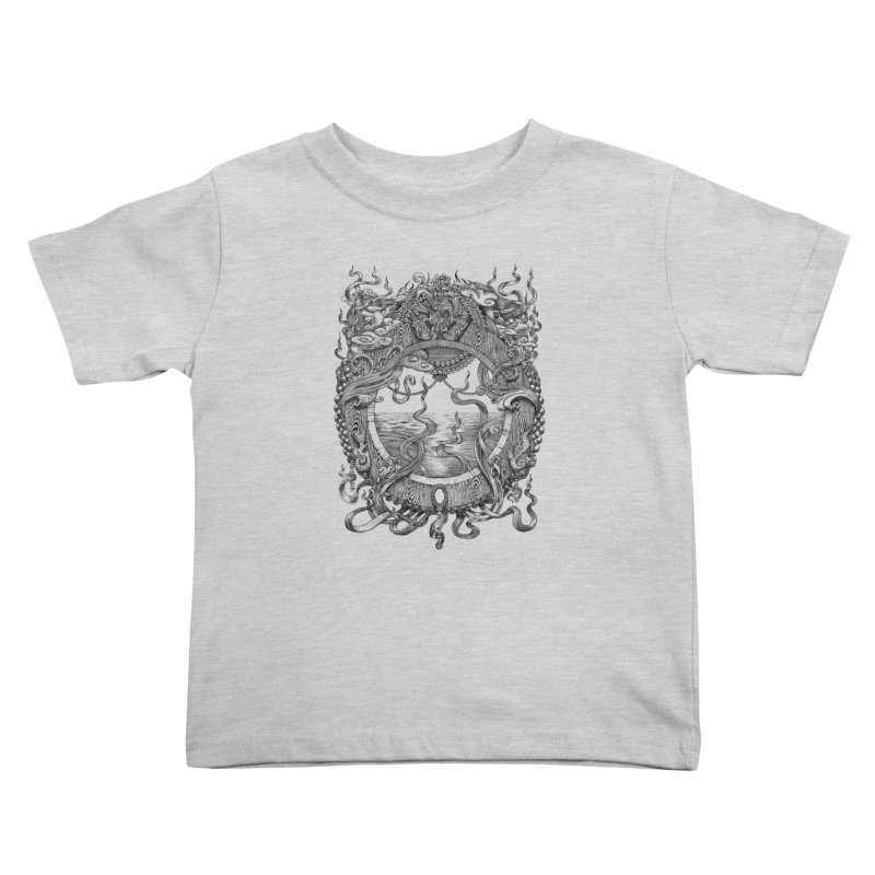 Pearl Portal Kids Toddler T-Shirt by Jason Brammer's Shop