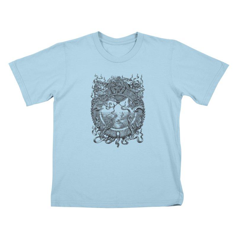 Pearl Portal Kids T-Shirt by Jason Brammer's Shop