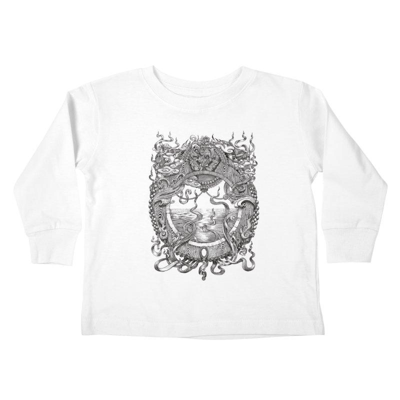 Pearl Portal Kids Toddler Longsleeve T-Shirt by Jason Brammer's Shop