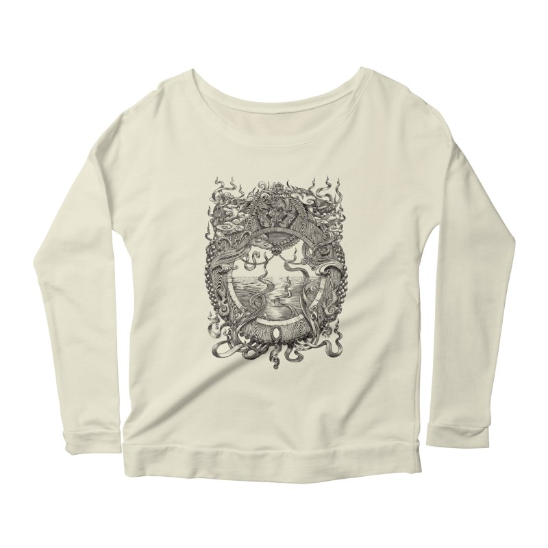 Pearl Portal Women's Scoop Neck Longsleeve T-Shirt by Jason Brammer's Shop
