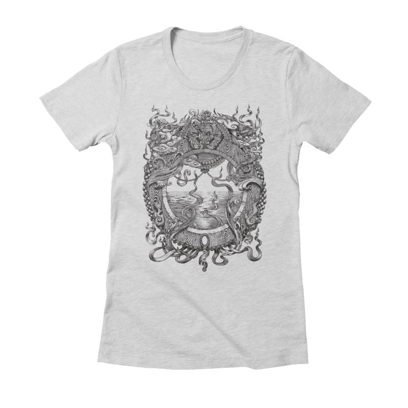 Pearl Portal Women's Fitted T-Shirt by Jason Brammer's Shop