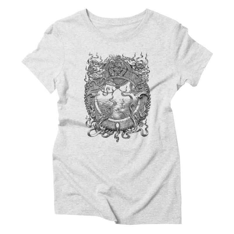 Pearl Portal Women's Triblend T-Shirt by Jason Brammer's Shop