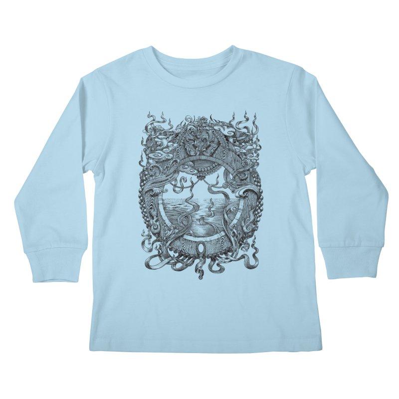 Pearl Portal Kids Longsleeve T-Shirt by Jason Brammer's Shop