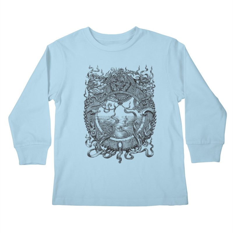 Pearl Portal Kids Longsleeve T-Shirt by Jason Brammer's Shop