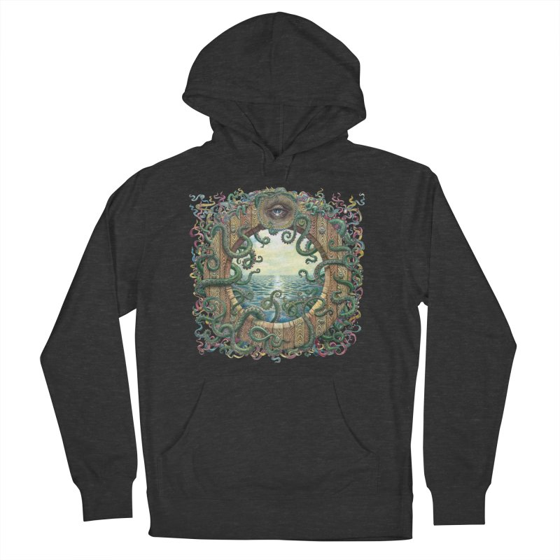 Writhing Waters XVIII Men's French Terry Pullover Hoody by Jason Brammer's Shop