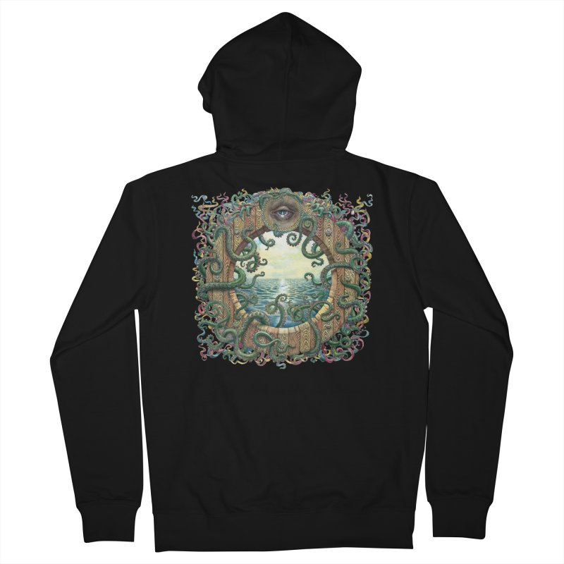 Writhing Waters XVIII Women's French Terry Zip-Up Hoody by Jason Brammer's Shop