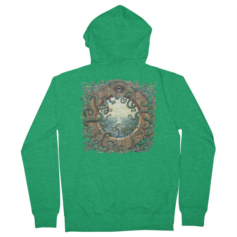 Writhing Waters XVIII Men's French Terry Zip-Up Hoody by Jason Brammer's Shop