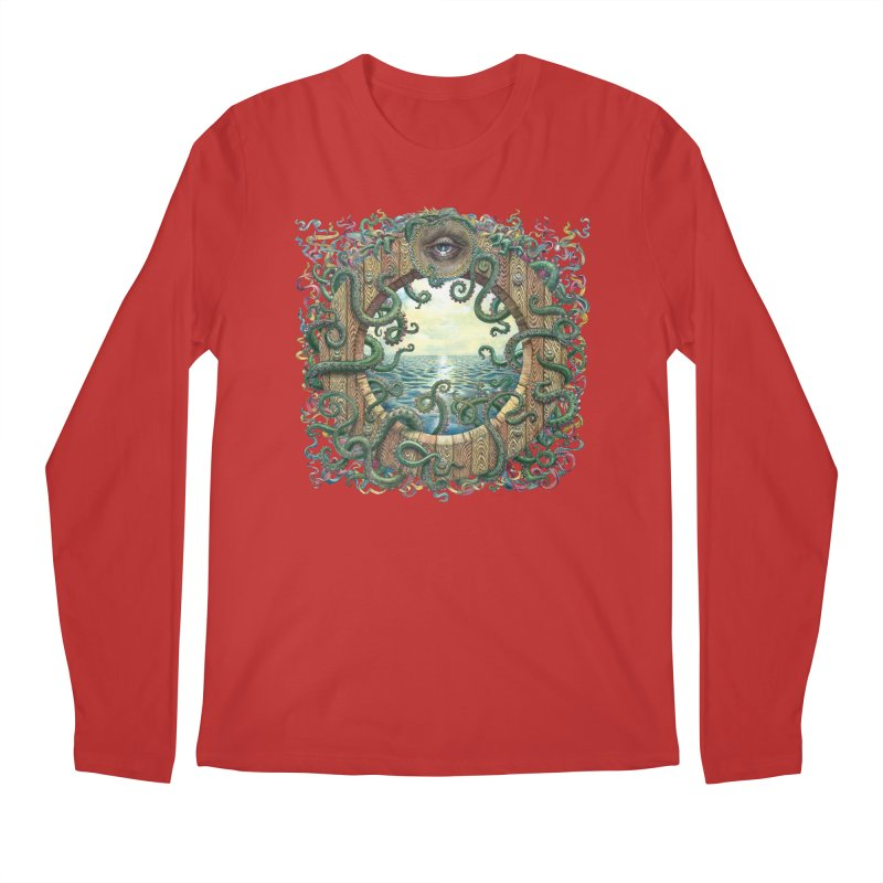Writhing Waters XVIII Men's Regular Longsleeve T-Shirt by Jason Brammer's Shop