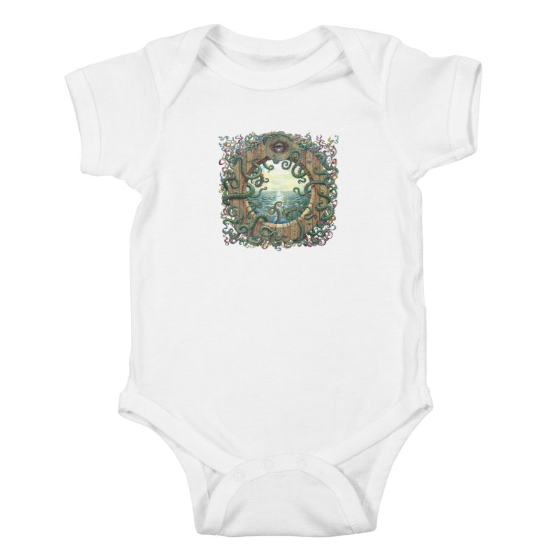 Writhing Waters XVIII Kids Baby Bodysuit by Jason Brammer's Shop