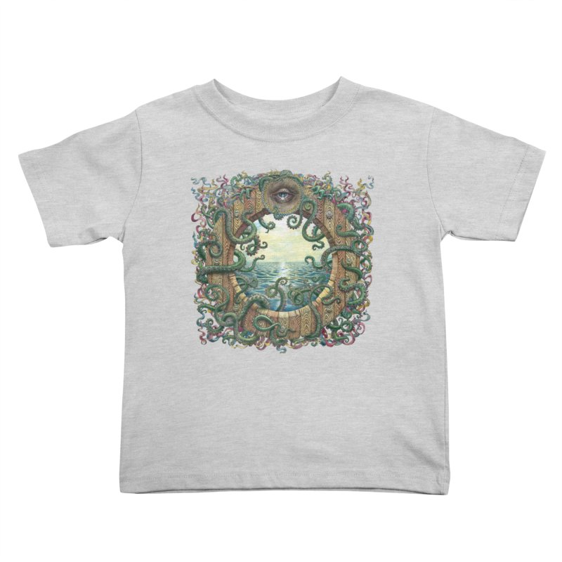 Writhing Waters XVIII Kids Toddler T-Shirt by Jason Brammer's Shop