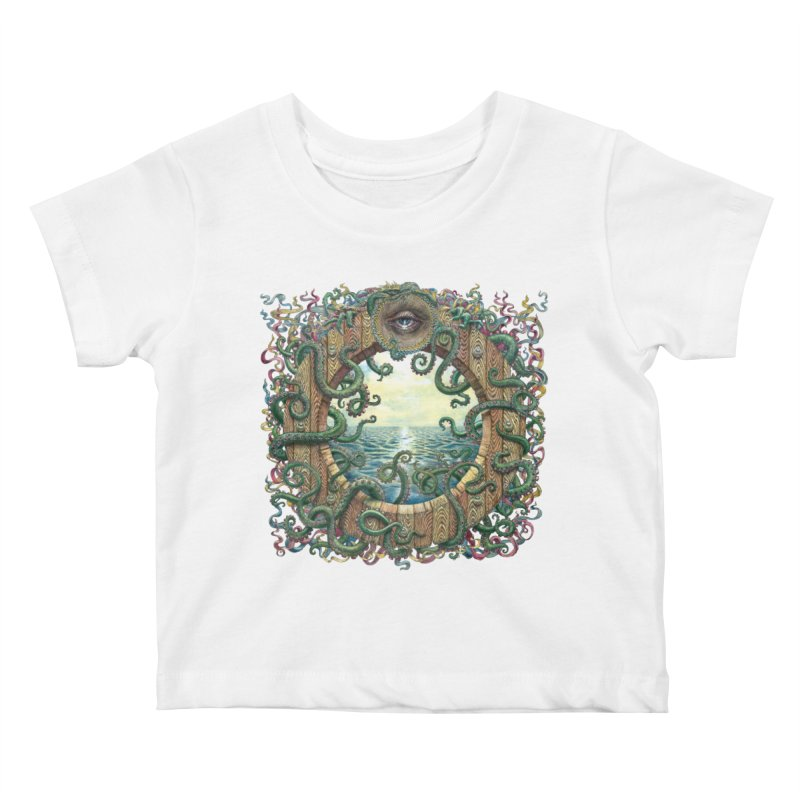Writhing Waters XVIII Kids Baby T-Shirt by Jason Brammer's Shop