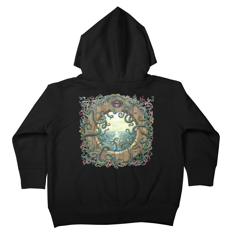 Writhing Waters XVIII Kids Toddler Zip-Up Hoody by Jason Brammer's Shop