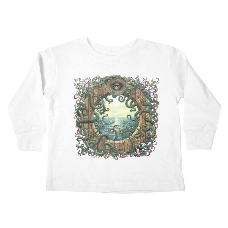 Writhing Waters XVIII Kids Toddler Longsleeve T-Shirt by Jason Brammer's Shop