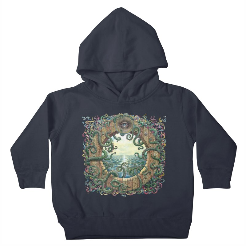 Writhing Waters XVIII Kids Toddler Pullover Hoody by Jason Brammer's Shop