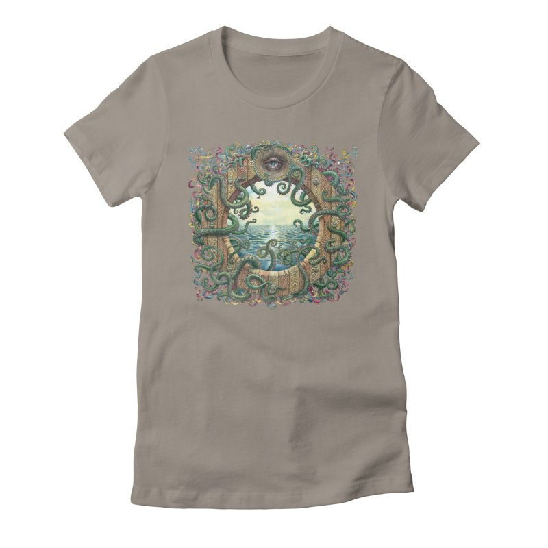 Writhing Waters XVIII Women's Fitted T-Shirt by Jason Brammer's Shop
