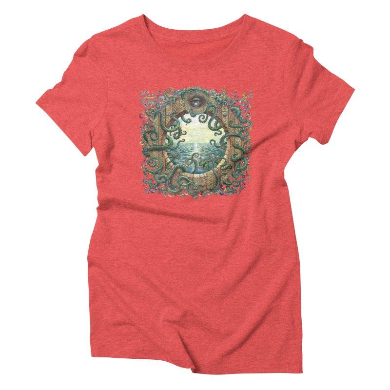 Writhing Waters XVIII Women's Triblend T-Shirt by Jason Brammer's Shop