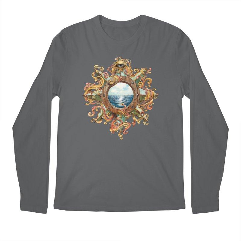 Writhing Waters XIII Men's Longsleeve T-Shirt by Jason Brammer's Shop