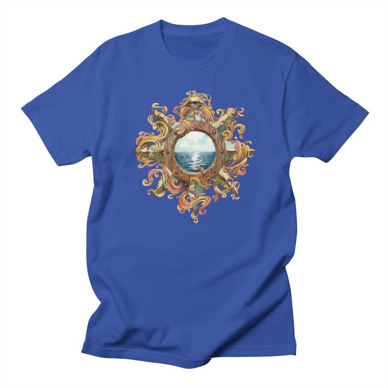 Writhing Waters XIII in Men's Regular T-Shirt Royal Blue by Jason Brammer's Shop