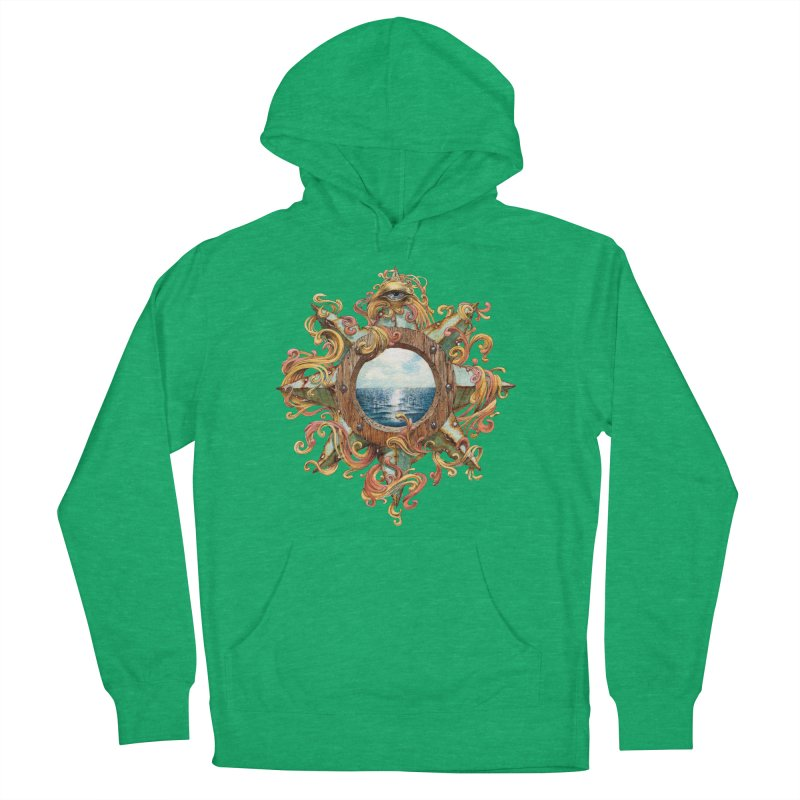 Writhing Waters XIII Women's French Terry Pullover Hoody by Jason Brammer's Shop