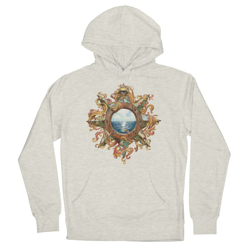 Writhing Waters XIII Men's French Terry Pullover Hoody by Jason Brammer's Shop