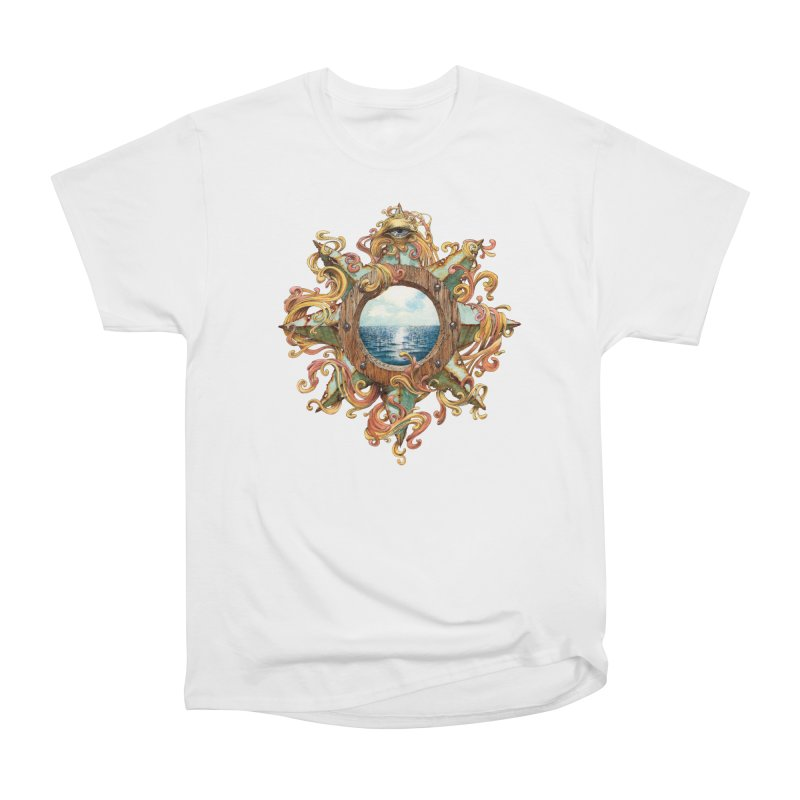 Writhing Waters XIII Women's Heavyweight Unisex T-Shirt by Jason Brammer's Shop
