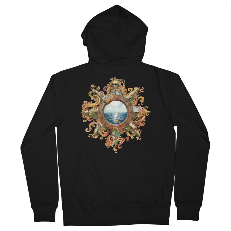 Writhing Waters XIII Women's French Terry Zip-Up Hoody by Jason Brammer's Shop