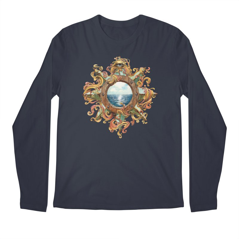 Writhing Waters XIII Men's Regular Longsleeve T-Shirt by Jason Brammer's Shop