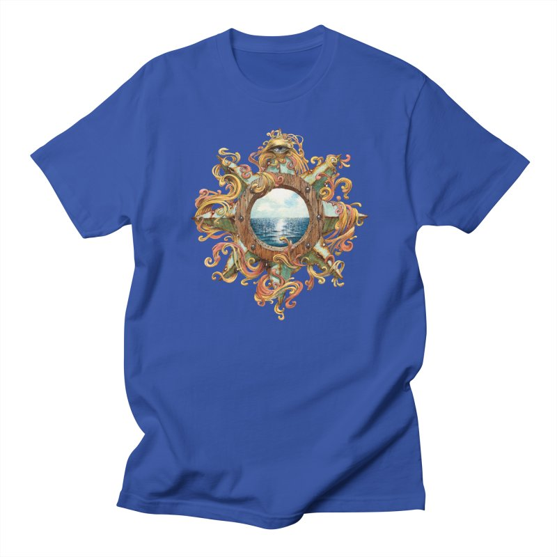 Writhing Waters XIII in Men's T-shirt Royal Blue by Jason Brammer's Shop
