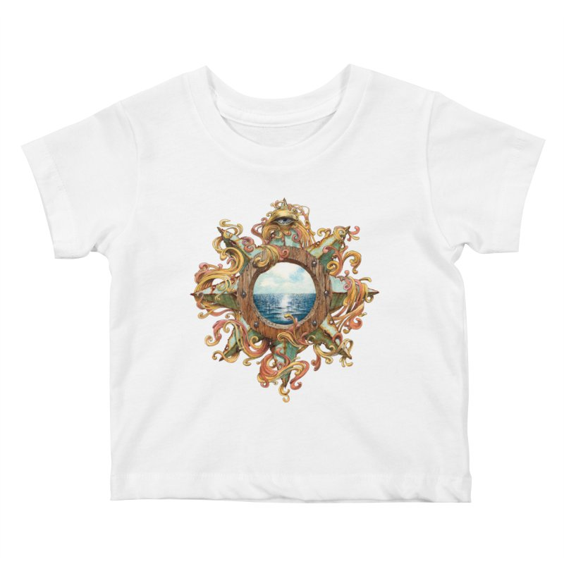 Writhing Waters XIII Kids Baby T-Shirt by Jason Brammer's Shop