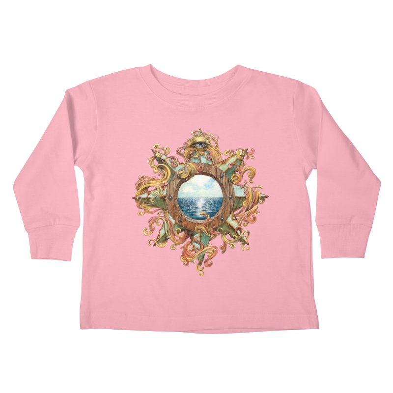 Writhing Waters XIII Kids Toddler Longsleeve T-Shirt by Jason Brammer's Shop
