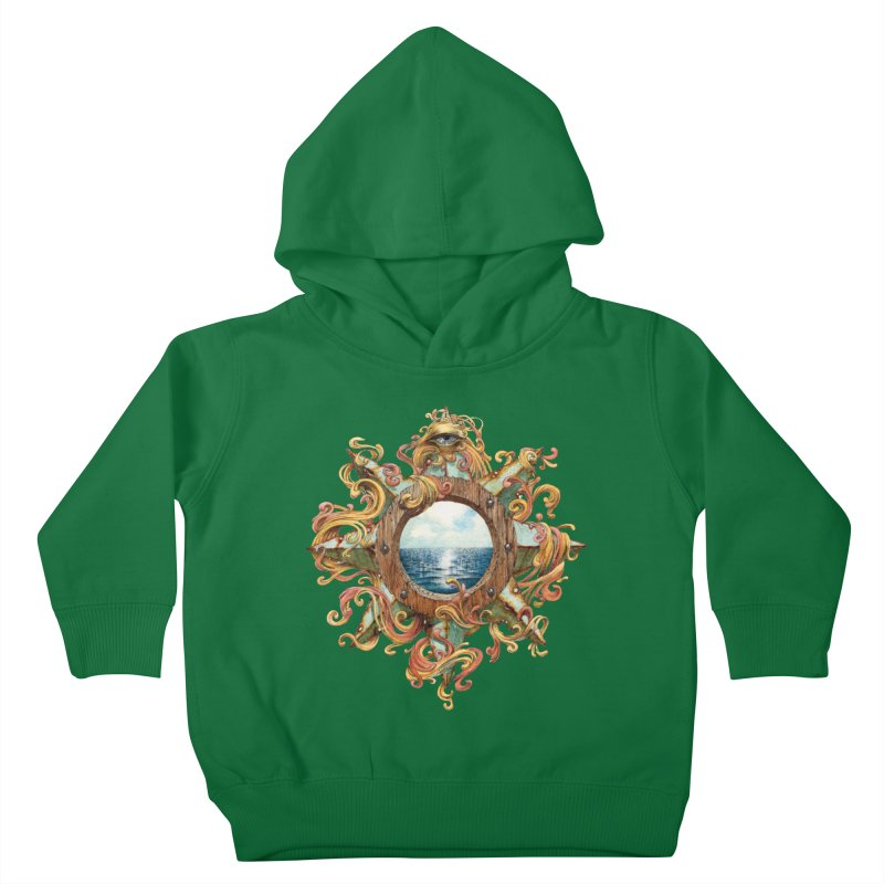 Writhing Waters XIII Kids Toddler Pullover Hoody by Jason Brammer's Shop