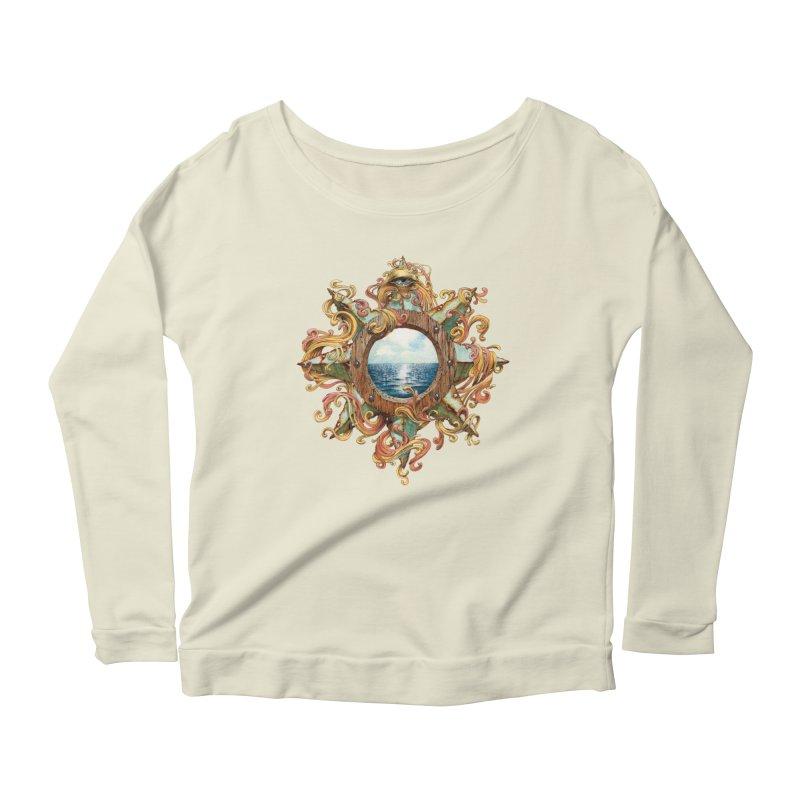 Writhing Waters XIII Women's Scoop Neck Longsleeve T-Shirt by Jason Brammer's Shop
