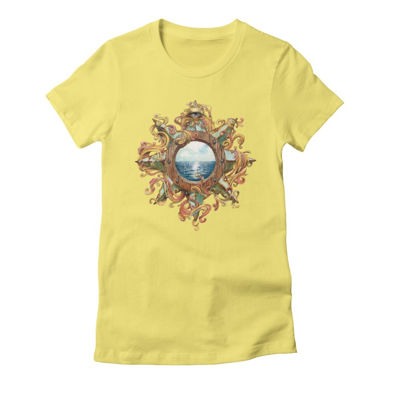 Writhing Waters XIII Women's Fitted T-Shirt by Jason Brammer's Shop