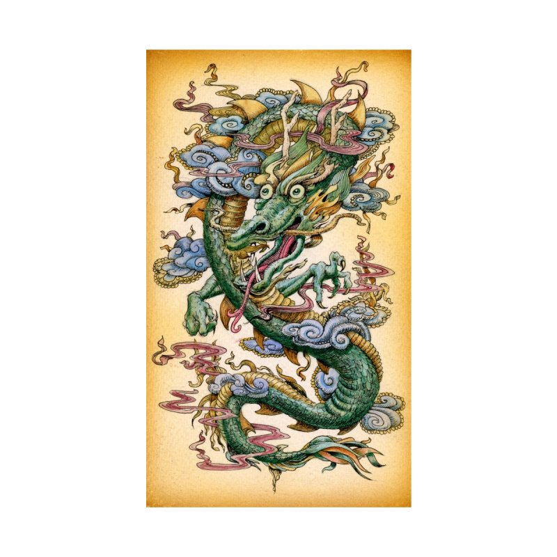 """Jade Dragon: Specimen A"" phone case by Jason Brammer's Shop"