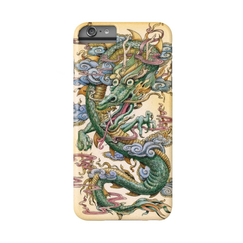 """Jade Dragon: Specimen A"" phone case in iPhone 6 Plus / 6S Plus Phone Case Slim by Jason Brammer's Shop"