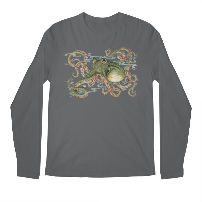 Octopod: Specimen H Men's Longsleeve T-Shirt by Jason Brammer's Shop
